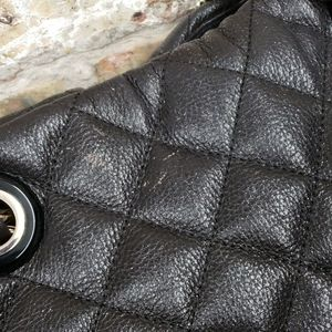 kate spade Bags - Kate Spade brown leather quilted bag